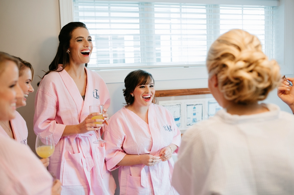 Bridesmaid Robes First Look