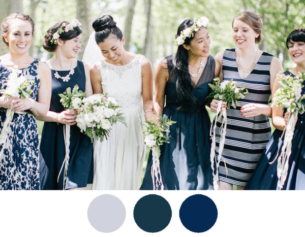 navy-denim-sky-blue-bridesmaid-dresses