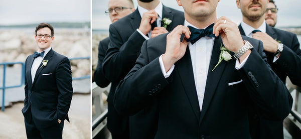 Groom and Groomsmen Bow Tie