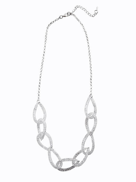 clear-sparkle-chain-link-necklace