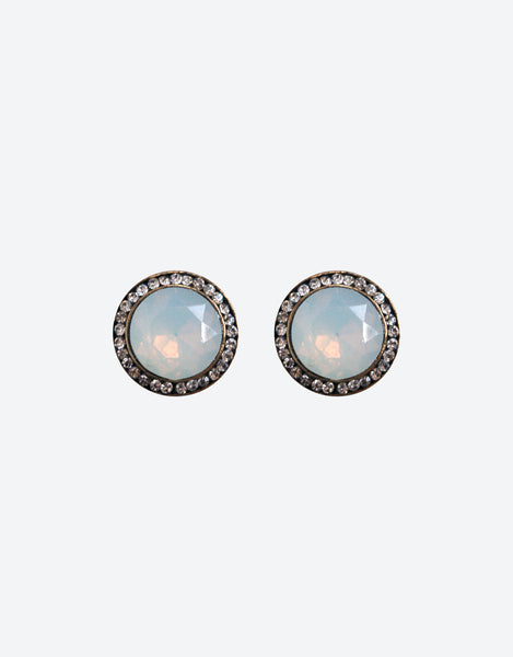 clip-on-frosted-iridescent-stud-earrings