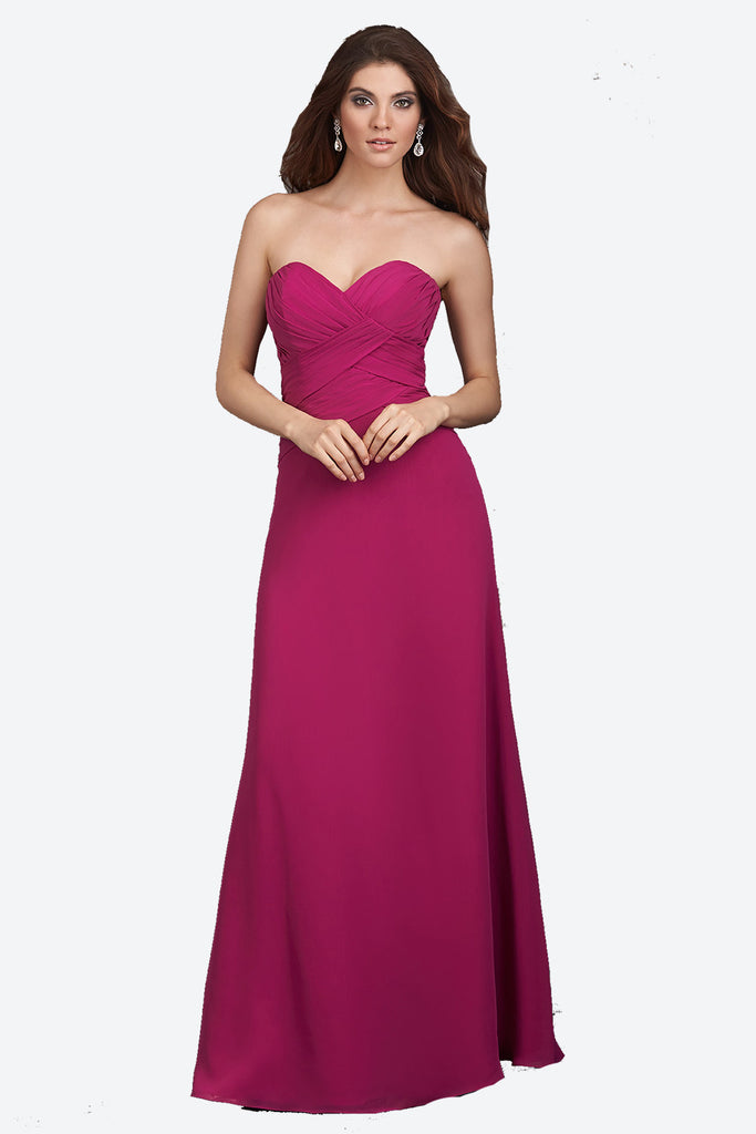 featured-strapless-sweetheart-bridesmaid-dress