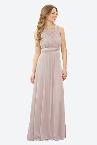 featured-round-neck-satin-and-chiffon-dress