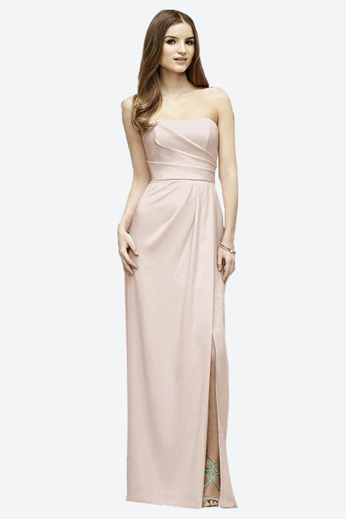 featured-strapless-pleated-crepe-bridesmaid-dress