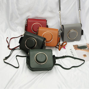 Leather Camera Shoulder Bags - MYNYstyle - 1
