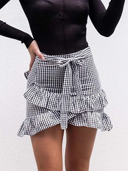 SKIRTS - Mini skirts Monocrom Buy Cheap Fashion Style Discount Reliable Best Place For Sale Outlet Online Browse Cheap Online upMCFmvWc