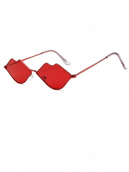 Red Lip Frame Sunglasses