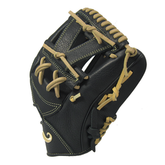 "[Black] ""The Mustache"" 11.5"" Game-Ready Glove - Gloveworks mfg. co."