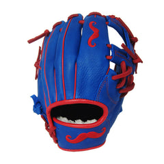 "[Blue] ""The Mustache"" 11"" Game-Ready Glove"