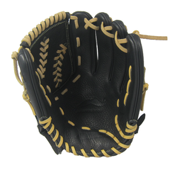 "[Black] ""The Mustache"" 12"" Game-Ready Glove - Gloveworks mfg. co."
