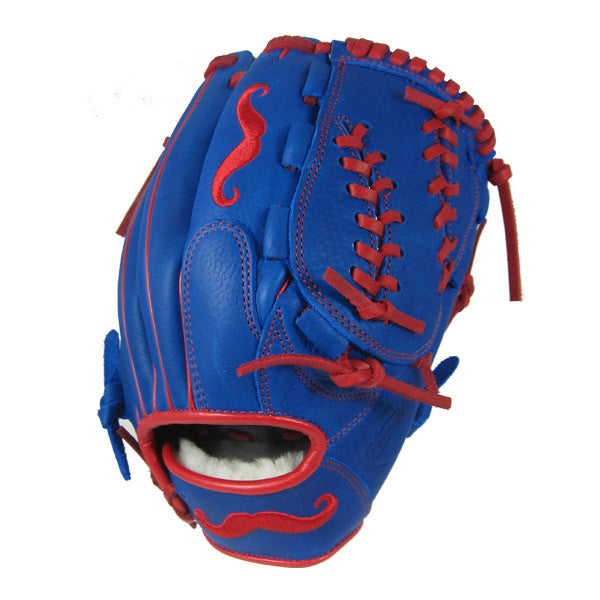 "[Blue] ""The Mustache"" 12"" Game-Ready Glove"