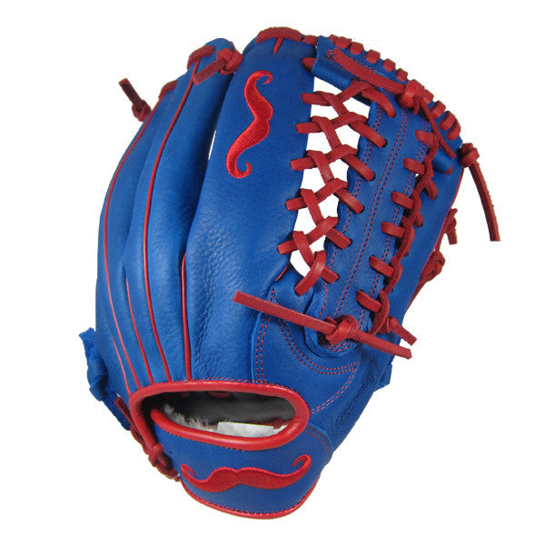 "[Blue] ""The Mustache"" 12.5"" Game-Ready Glove"