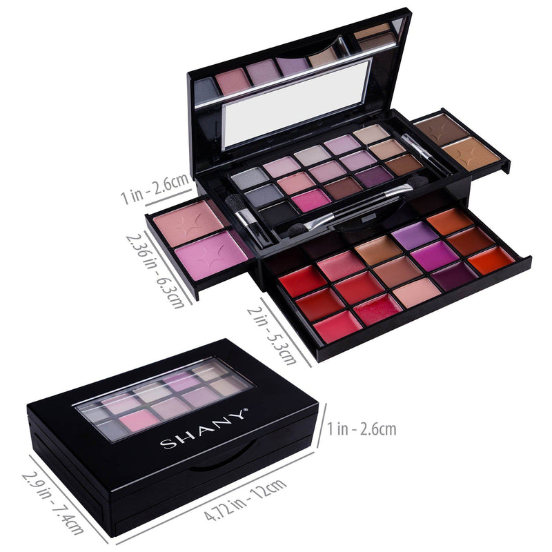 SHANY Fierce & Flawless All-in-One Compact -  - ITEM# SH-4003 - Best seller in cosmetics MAKEUP SETS category