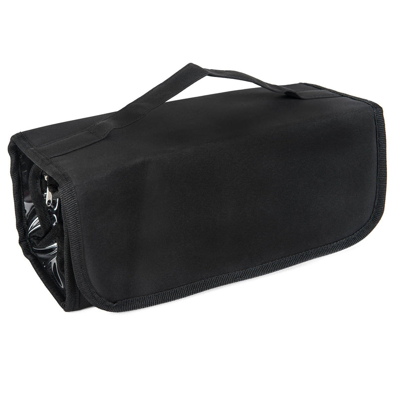 SHANY Jet Setter Rolling Hanged Storage Bag - For Travel and at Home Use -  - ITEM# SH-PC06 - From the creators of the super popular LL Cream – Paraben Free/ Talc Free, SHANY now brings you their new line of perfect travel-ready and storage bags. The SHANY Jet Setter Hanging Travel Bag will help you keep your toiletri