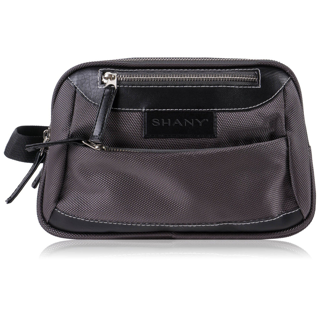 SHANY Cosmetics Portable Toiletry Makeup Bag with Various Compartments - Water-resistant and Scratch-proof Makeup Travel Organizer - Galactic Gray - SHOP  - TRAVEL BAGS - ITEM# SH-NT1001-GY