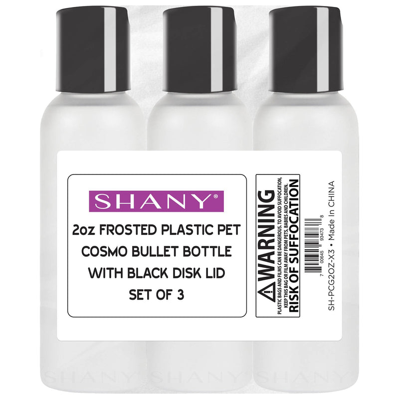 SHANY Frosted Travel-ready Bottle -  - ITEM# SH-PCG-PARENT - Refillable cosmetic containers empty clear spray,Travel size bottle hair beauty leak proof perfume,Empty clear spray refillable travel size bottles,Lotion cream squeezable conditioner portable set,Liquid mini softsoap makeup oil small smart jar - UPC# 700645934684