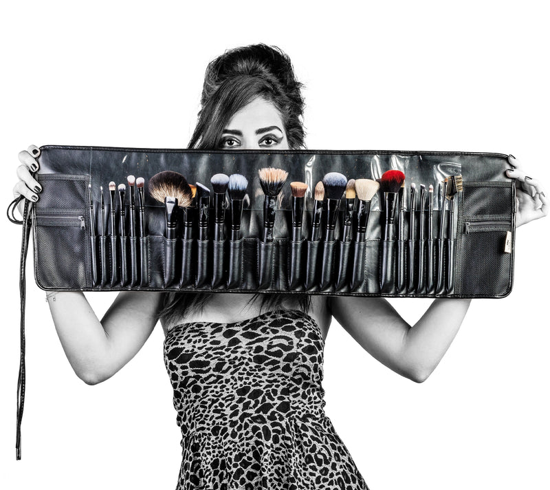 SHANY The Masterpiece Signature Brush Set-24pc -  - ITEM# SH-BR005 - makeup contour brush set Holiday gift for her mom,it cosmetics brushes BH brush set BS-MALL Makeup,morphe brush set Makeup Brushes Premium Synthetic,cosmetics brush set applicator makeup brush sets,makeup brush set with case Zoreya brush bag makeup - UPC# 723175176874