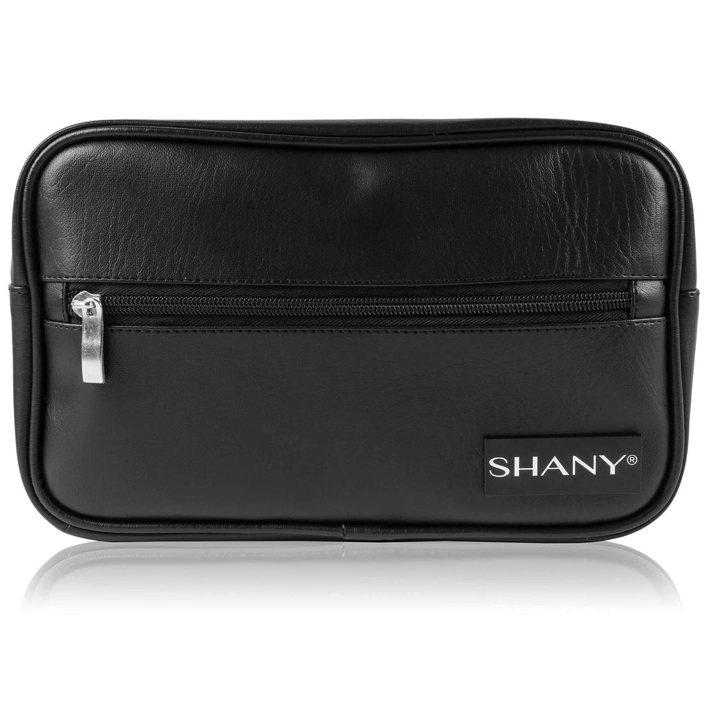 SHANY Dopp Kit and Travel Toiletry Bag - BLACK -  - ITEM# SH-NT1005-BK - Makeup toiletry bag cosmetic organizer pouch purse,Travel makeup women girls train case box storage,Kate spade victorias secret hello kitty lesportsac,Container handbag gadget zipper portable luggage,Large small hanging compartment professional kits - UPC# 700645941828