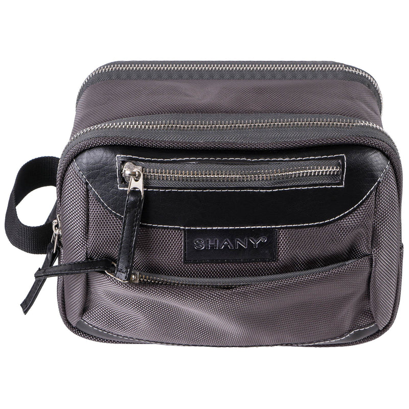SHANY Portable Toiletry Bag and Organizer -  - ITEM# SH-NT1001-GY - Best seller in cosmetics TRAVEL BAGS category