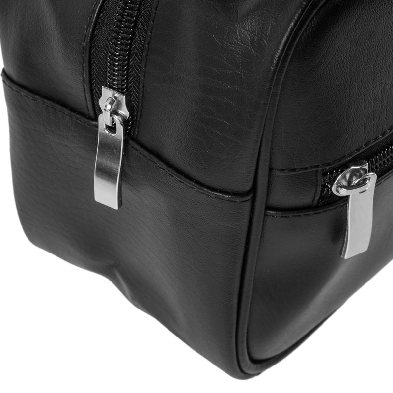 SHANY Dopp Kit and Travel Toiletry Bag - BLACK -  - ITEM# SH-NT1005-BK - Best seller in cosmetics TRAVEL BAGS category