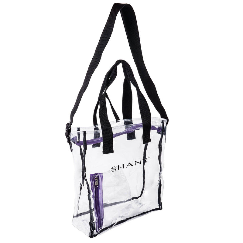 SHANY Clear Toiletry and Makeup Carry-On -  - ITEM# SH-PC17-BK - Best seller in cosmetics TRAVEL BAGS category