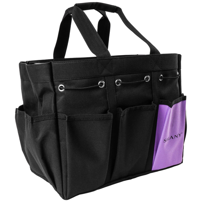 SHANY Beauty Handbag and Makeup Organizer Bag -  - ITEM# SH-PC21-BK - Best seller in cosmetics MESH BAGS category