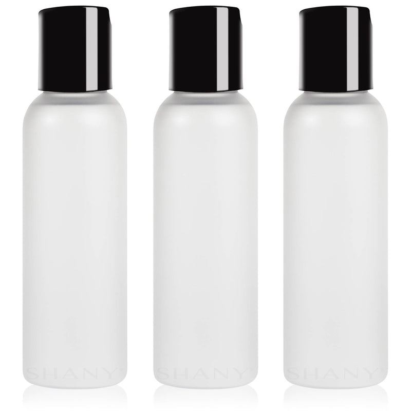 SHANY Frosted Travel-ready Bottle 2-ounce Set of 3