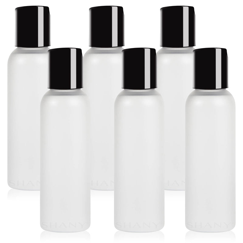 SHANY Frosted Travel-ready Bottle 2-ounce Set of 6