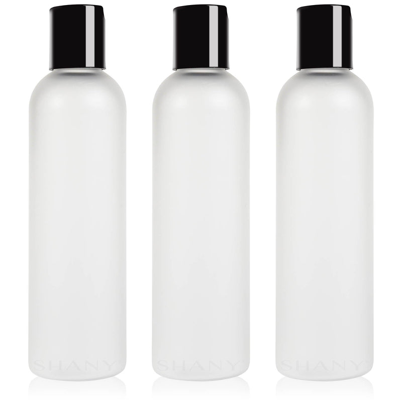 SHANY Frosted Travel-ready Bottle 4-ounce Set of 3