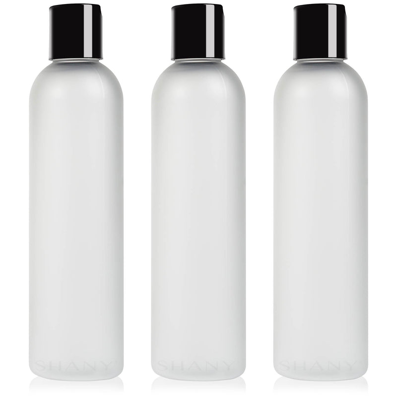 SHANY Frosted Travel-ready Bottle 8-ounce Set of 3