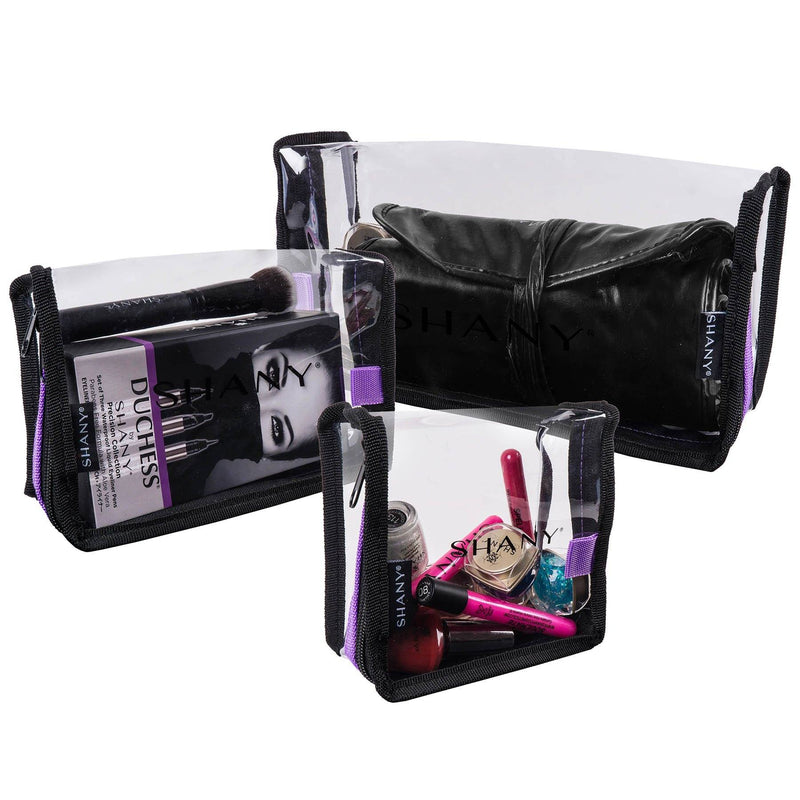 SHANY Traveling Makeup Artist Bag Set of 3