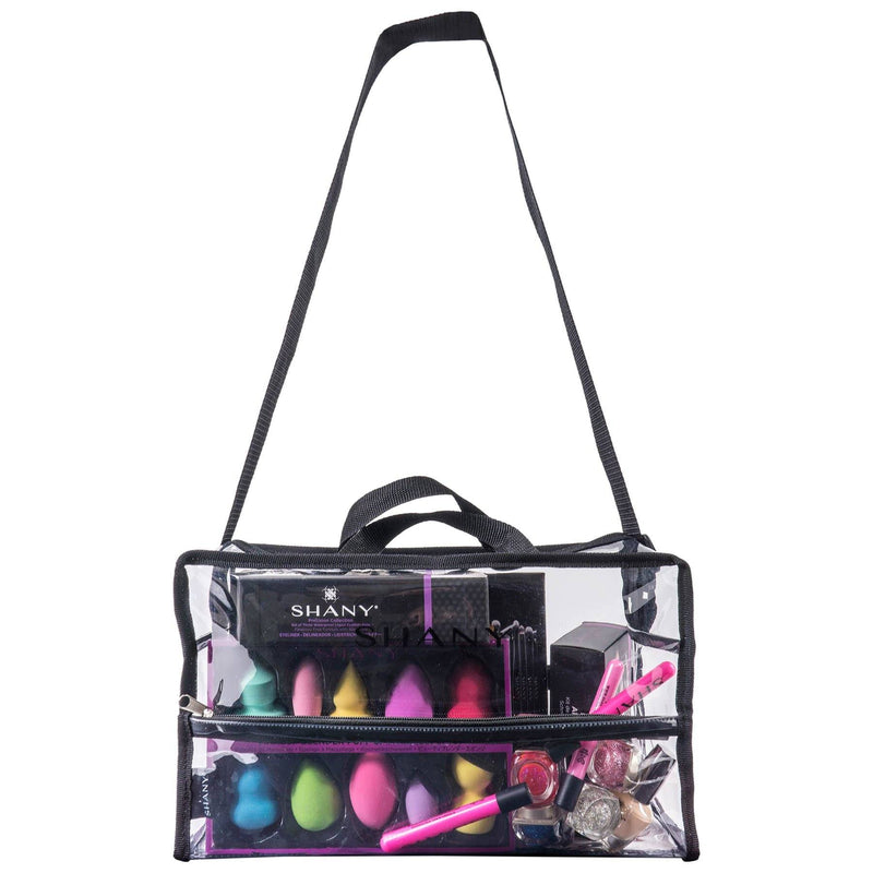 SHANY Clear PVC Water-Resistant Travel Tote Bag