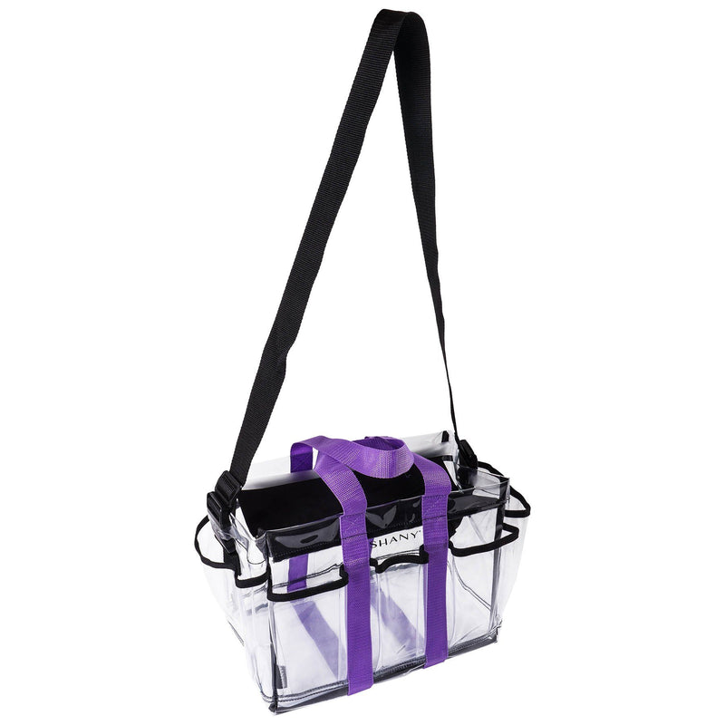 SHANY Clear Makeup Organizer and Travel Caddy