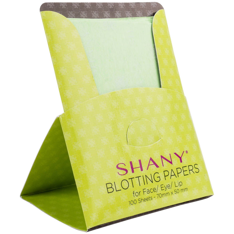 SHANY On-the-go Oil Absorbent Sheet- Set of Four