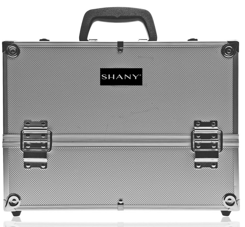 SHANY Essential Pro Makeup Train Case with Shoulder Strap and Locks - SHOP BLACK - MAKEUP TRAIN CASES - ITEM# SH-C005-PARENT