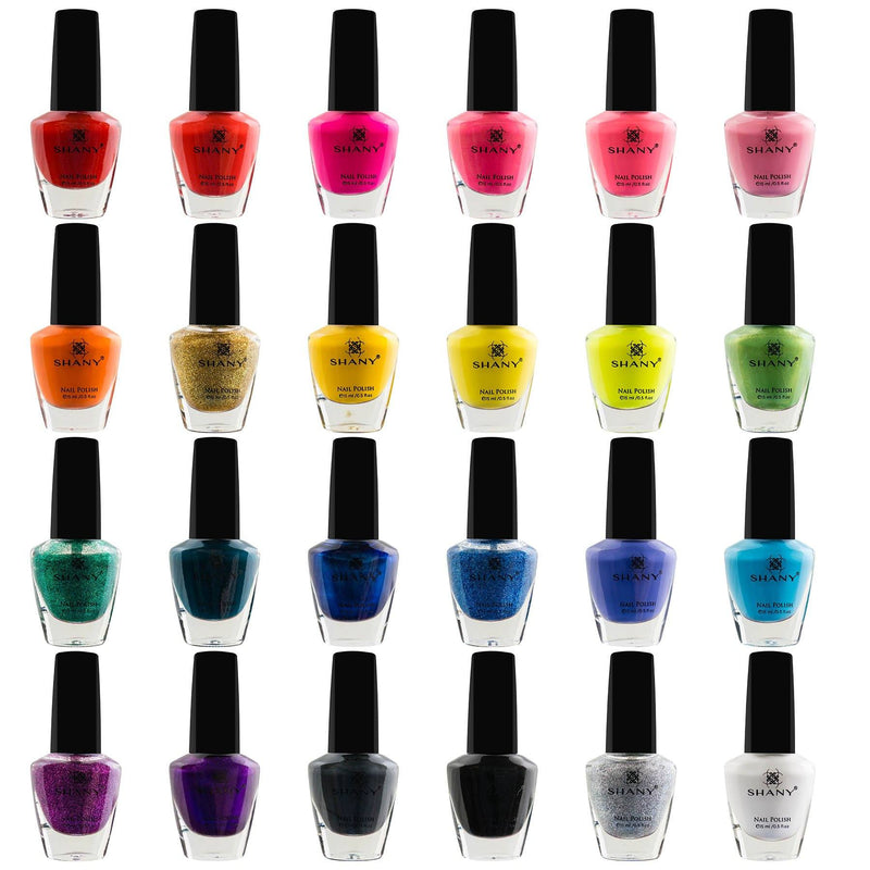 SHANY Cosmopolitan Nail Polish set - Pack of 24 Colors - Premium Quality & Quick Dry - SHOP  - NAIL POLISH - ITEM# SH-SHNN020-01