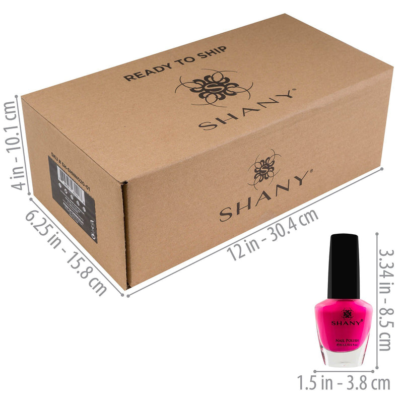 SHANY Cosmopolitan Nail Polish Set -  - ITEM# SH-SHNN020-01 - Best seller in cosmetics NAIL POLISH category