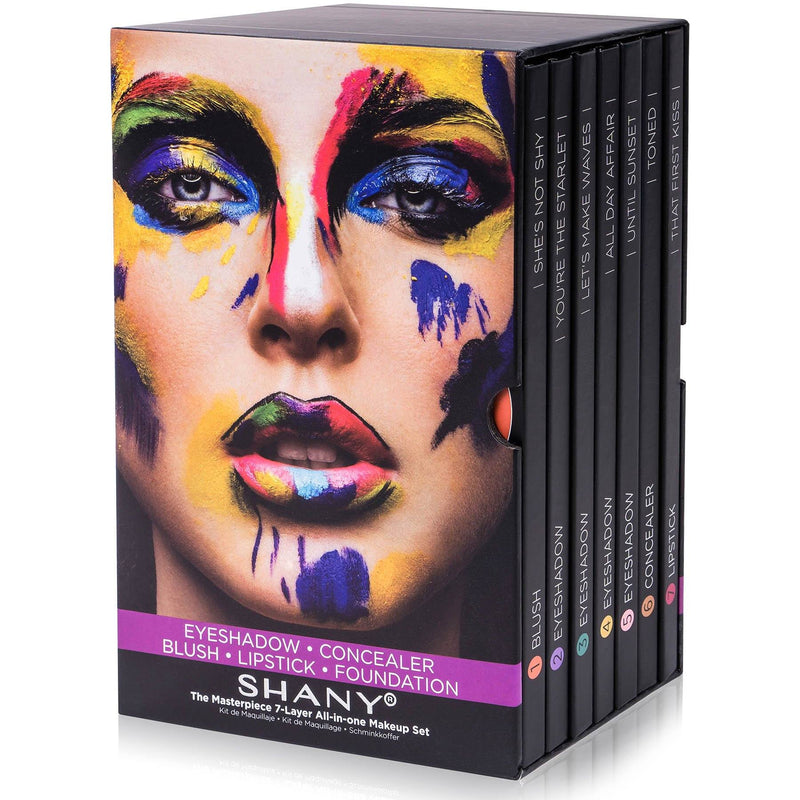 "SHANY The Masterpiece 7 Layers All In One Makeup Set - ""Original"" - SHOP  - MAKEUP SETS - ITEM# SH-7L"