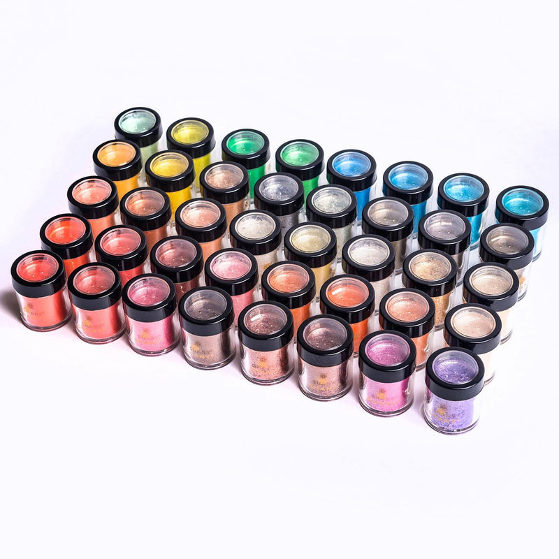SHANY Loose Pearl Eye Shadow - Set of 40