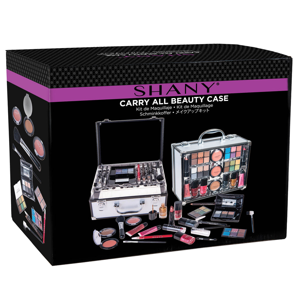 SHANY Carry All Trunk Makeup Set -  - ITEM# SH-220 - Makeup set train case Kids teens child makeup set,Unicorn mermaid makeup set make-up kit my first,Holiday Gift Set Beginner Makeup tools brush sets,pre teen make up makeup kits for teens girls,Christmas gift Dress-Up Toy pretend Makeup kit set - UPC# 723175178489