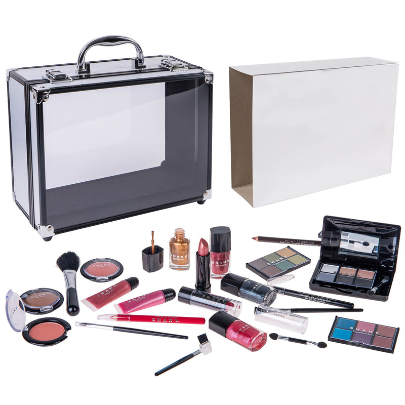 SHANY Carry All Trunk Makeup Set -  - ITEM# SH-220 - Best seller in cosmetics MAKEUP SETS category