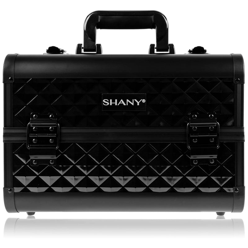SHANY Fantasy Collection Case - Black - BLACK - ITEM# SH-C20-BK - Makeup train cases bag organizer storage women kit,Professional large mini travel rolling toiletry,Joligrace ollieroo seya soho cosmetics holder box,Salon brush artist high quality water resistant,Portable carry trolley lipstic luggage lock key - UPC# 030955521787