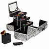SHANY Fantasy Collection - Silver Diamond - SILVER DIAMOND - ITEM# SH-C20-SL - Best seller in cosmetics MAKEUP TRAIN CASES category