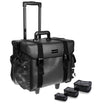 Makeup Artist Soft Rolling Trolley Cosmetic Case with Free Set of Mesh Bag - SHANY