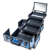 SHANY Fantasy Collection Case - Divine Blue - DIVINE BLUE - ITEM# SH-C20-BL - Best seller in cosmetics MAKEUP TRAIN CASES category