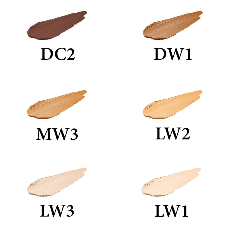 SHANY Crème Concealer Stick - DW1 - Paraben Free/Talc Free - DARK WARM 1 - ITEM# FCS-DW1 - The multi-purpose SHANY Crème Concealer not only hides your flaws (dark spots, redness, blemishes, and dark circles), but it also heals, soothes, and protects. This miracle formula is made with natural ingredients without talc o