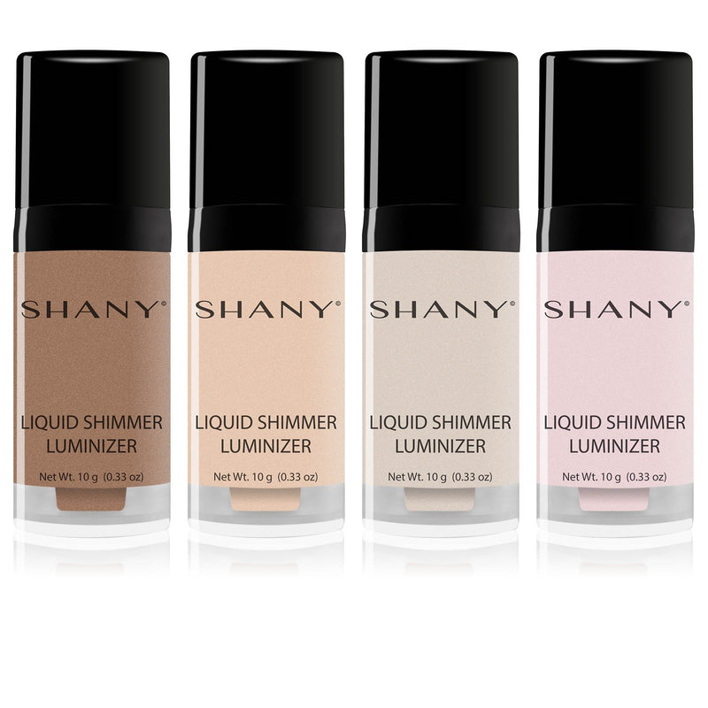 SHANY  HD Liquid Shimmer Luminizer - Crystalline - CRYSTALLINE - ITEM# SHL-B - Best seller in cosmetics BLUSH category