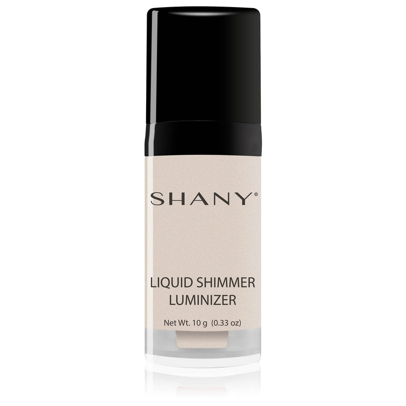 - WHITE - ITEM# SHL-PARENT - You can carry beautiful soft lighting in a bottle with the SHANY Liquid Shimmer Luminizer! This portable bottle houses a long-lasting liquid highlighter to give you that gorgeous Hollywood glow. Our shades can easily take you from every day to extraordinary with just a little pump and a S