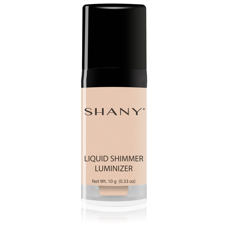 SHANY Liquid Shimmer Luminizer - Golden Secret - GOLDEN SECRET - ITEM# SHL-C - Blush highlighters face blusher makeup palette set,Contour bronzer pink glow illuminator natural girl,Mac elf glitter shimmer fare kit multi color cream,Blusher liquid balm powder women cheek best skin,Stick finish master cosmetic sparkly cheap tool - UPC# 082045221732