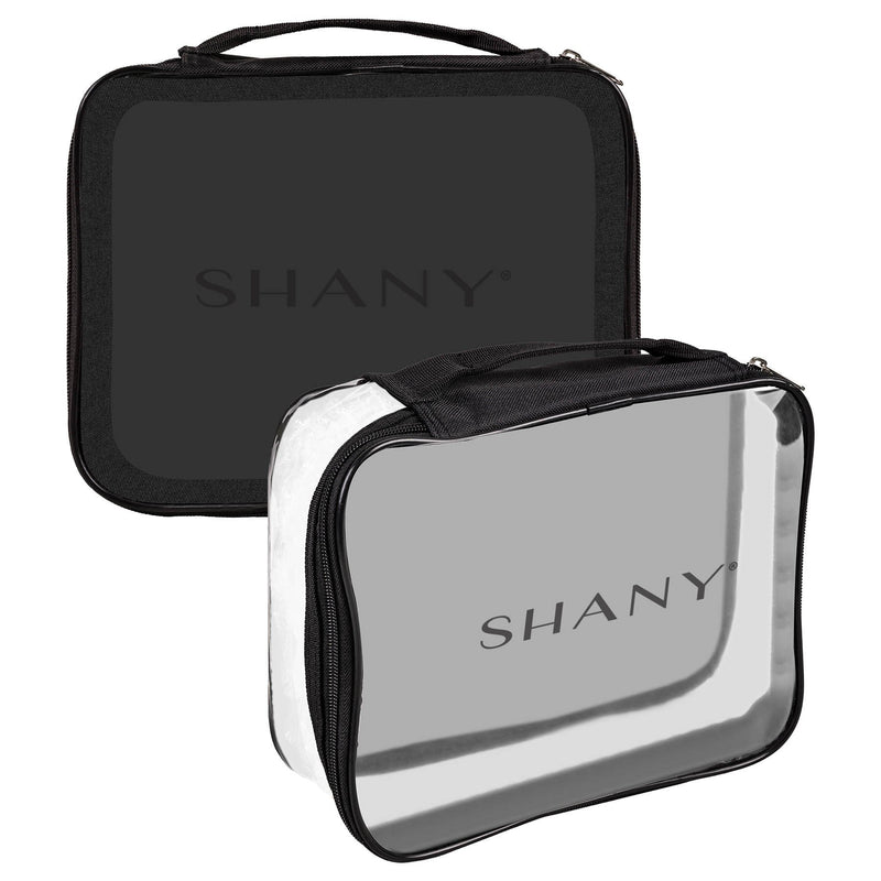 It's Show Time Travel Bag - Clear Waterproof Travel Storage for Home/Travel Use - SHANY